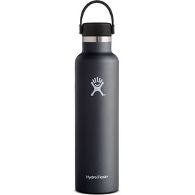 Hydro Flask Standard Mouth Flex 24 Bottle 709ml Black